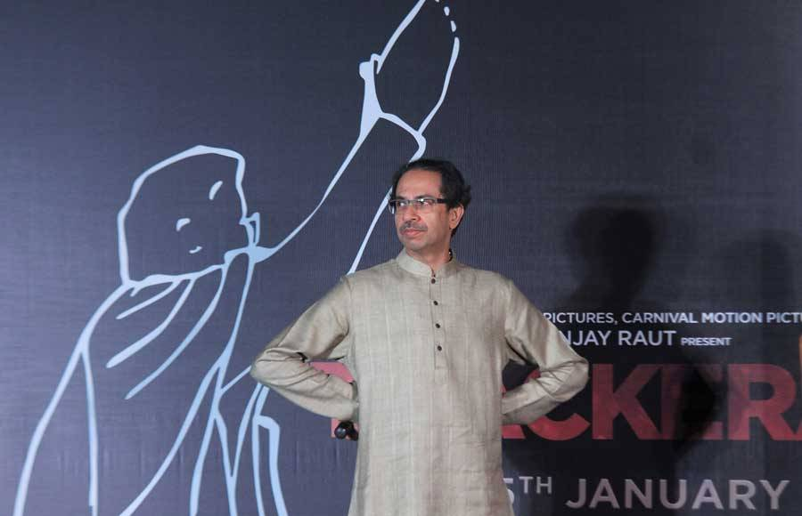 Thunderous applause drowns Nashik dhols at Thackeray trailer launch