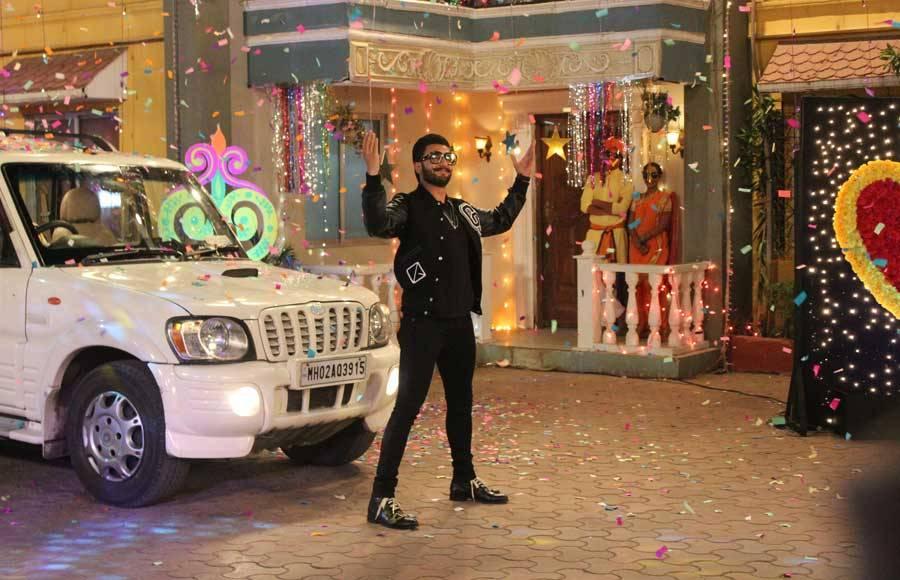 Fun times with Ranveer Singh in TMKOC
