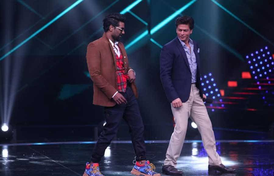 SRK and Remo's dance on the sets of Dance +
