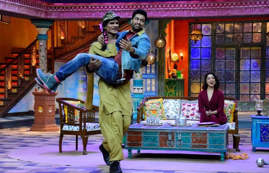 Vicky Kaushal and Yami Gautam on Kanpur Waale Khuranas