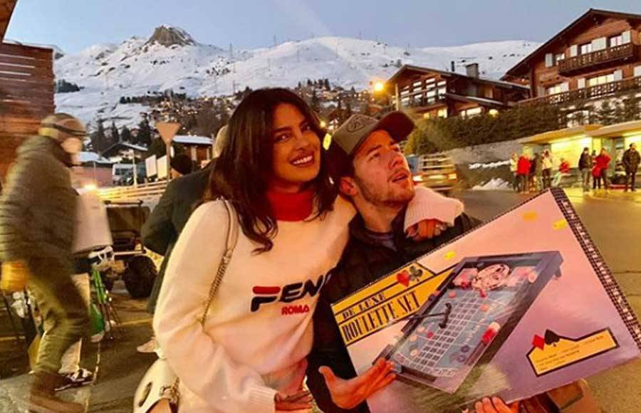 Priyanka Chopra enjoying her vacation in Switzerland with her family
