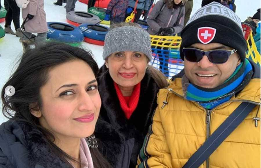 Divyanka and Vivek enjoy a lovely vacation in Switzerland