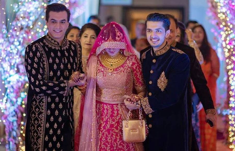 Celeb Galore At Mohsin Khan S Sister Zeba S Wedding One of the most famous tv actors, mohsin khan is. celeb galore at mohsin khan s sister