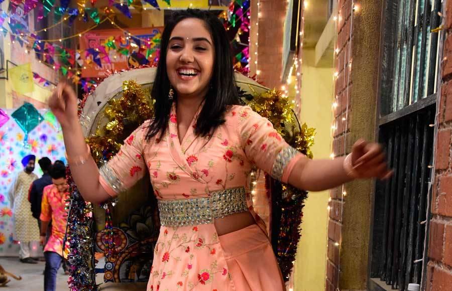 Lohri celebrations in Sony TV's Patiala Babes.