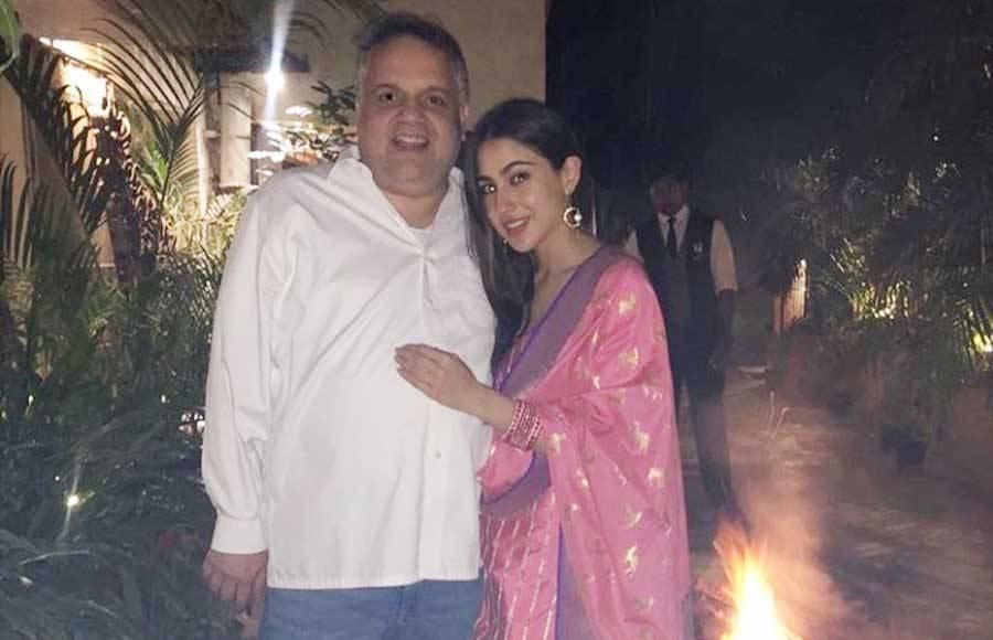 In pics: Sara Ali Khan celebrates Lohri with family and friends