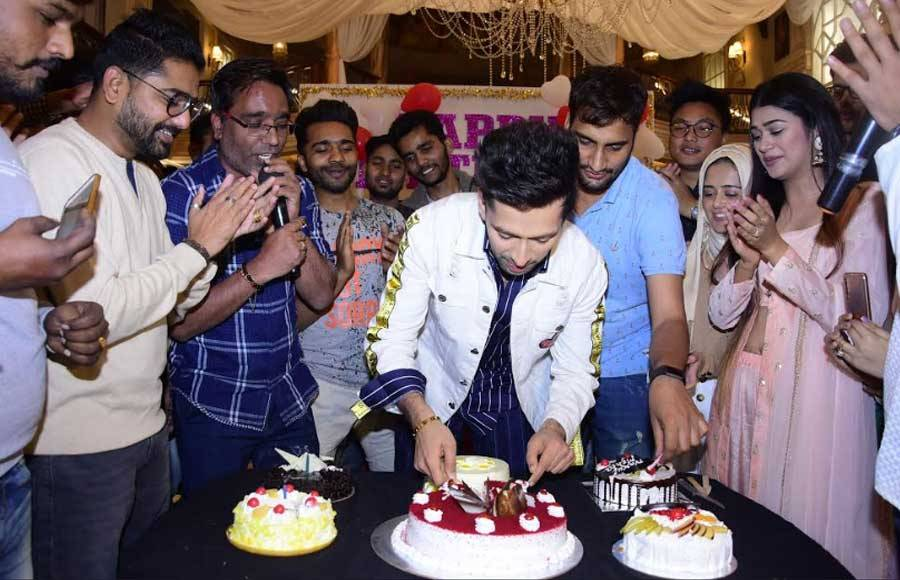 In Pics: Fans surprise actor Nakuul Mehta on his birthday
