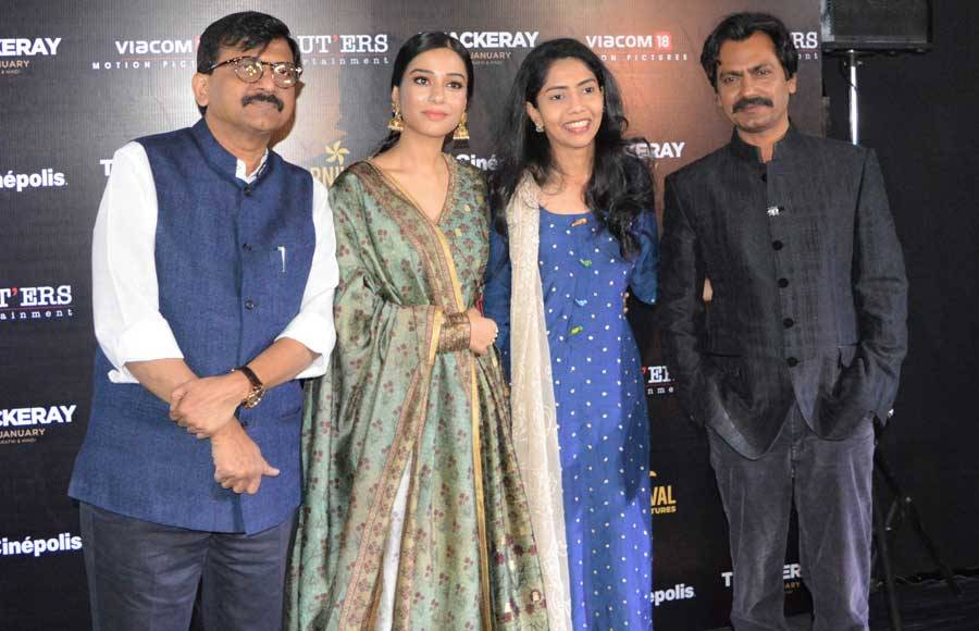 Press Conference of the movie Thackeray