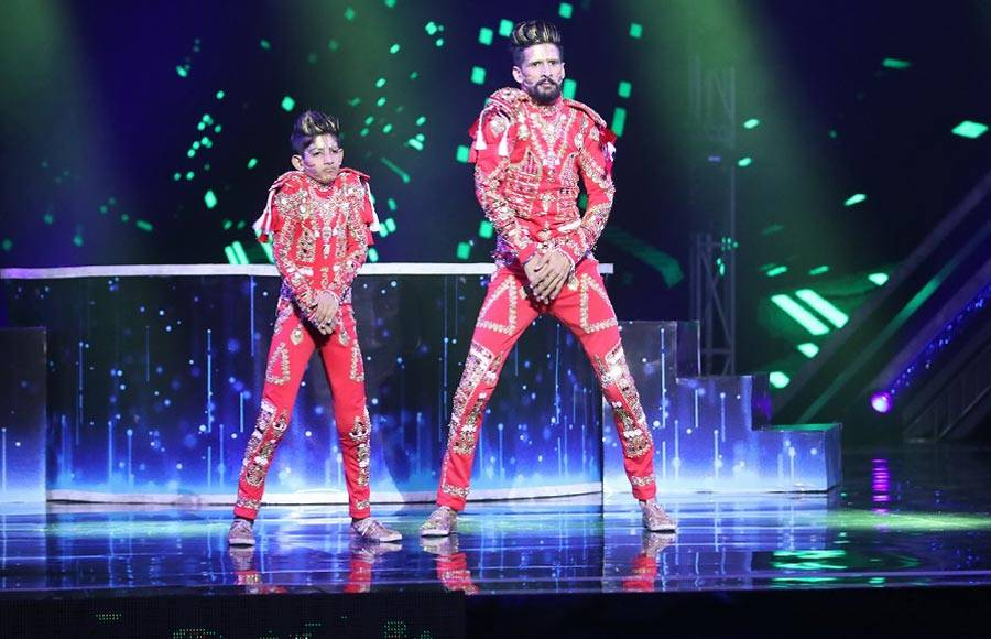 Top 5 'Total Dhamaal' moments on Super Dancer Chapter 3