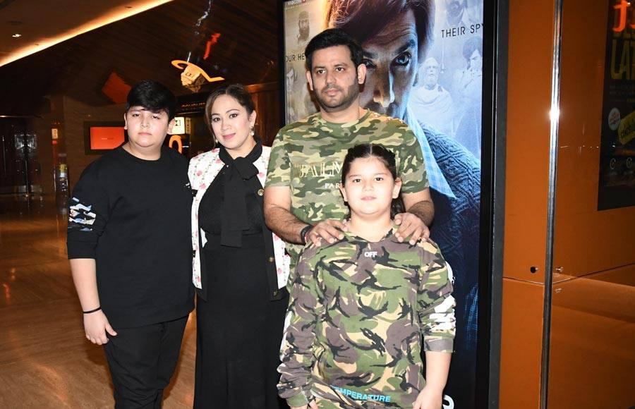 Producer Ajay Kapoor at the trailer launch of 'RAW - Romeo Akbar Walter'