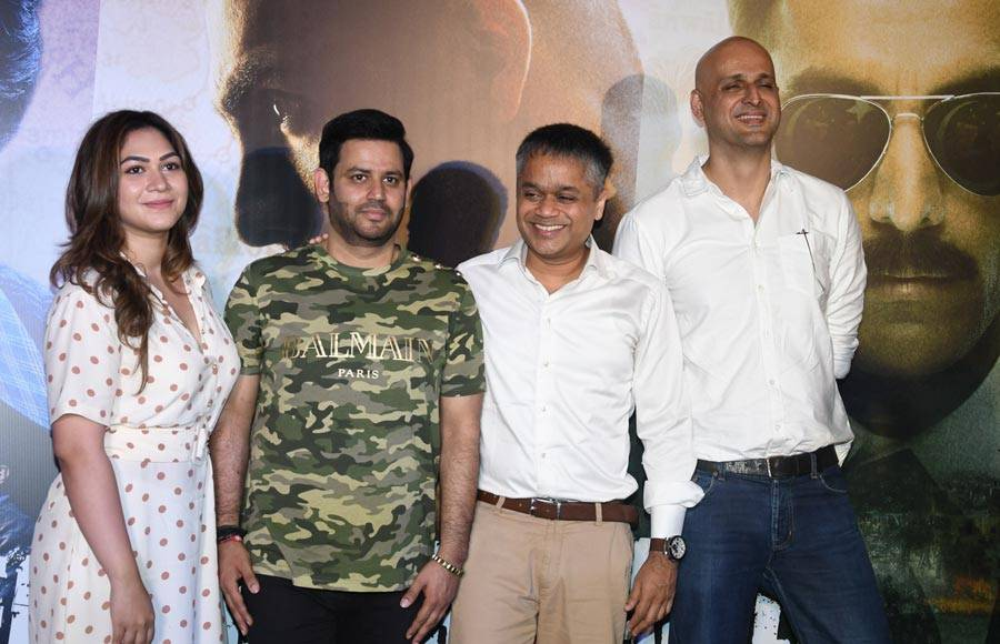 Producer Ajay Kapoor at the trailer launch of 'RAW - Romeo Akbar Walter'