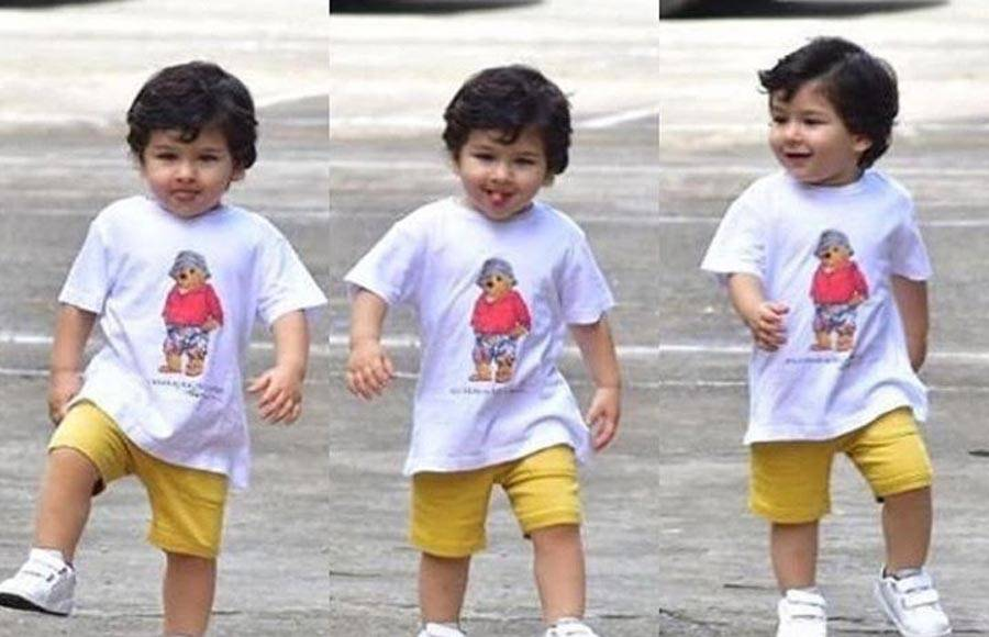 Check out the different moods of Taimur Ali Khan