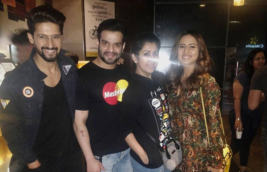 TV celebs galore at the screening of Kala Shah Kala