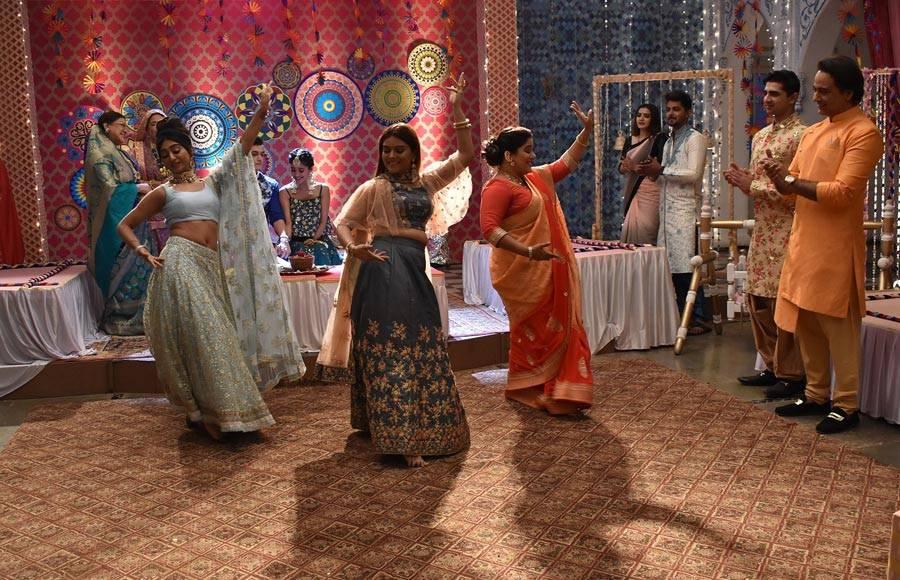 Mehendi sequence in Yeh Rishta Kya Kehlata Hai!