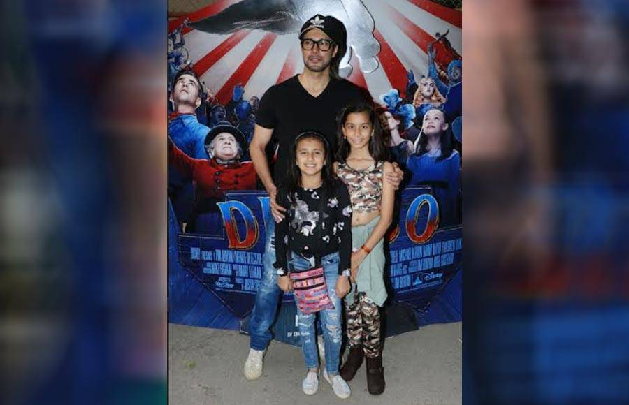 Television celebrities and their kids attend special screening of Disney's Dumbo!