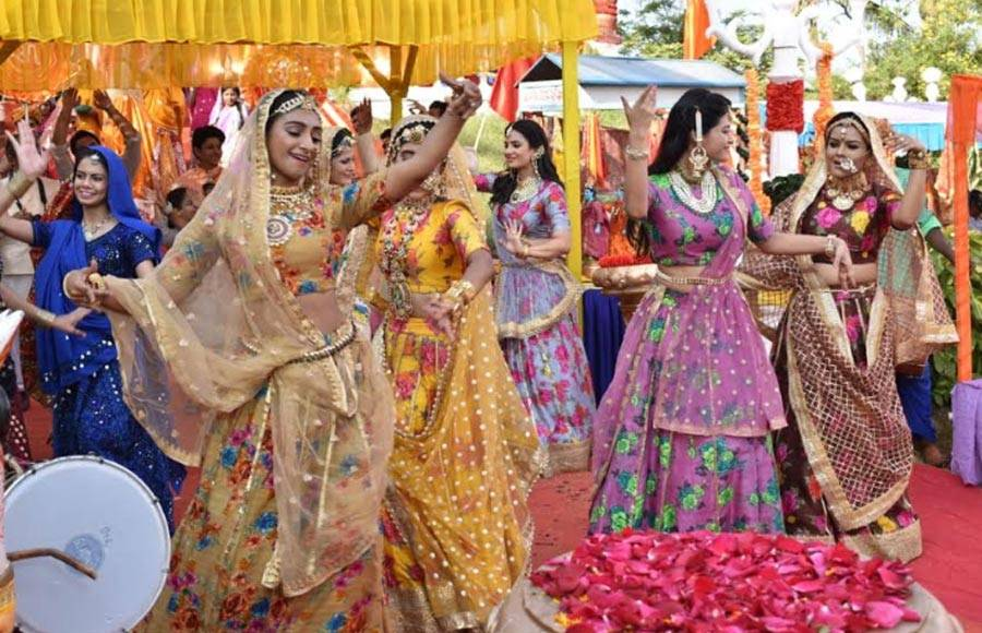 In pics: Gangaur pooja celebration in Yeh Rishta Kya Kehlata Hai