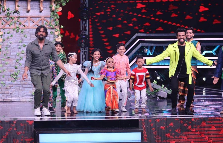 Suniel Shetty makes a guest appearance on Super Dancer Chapter 3