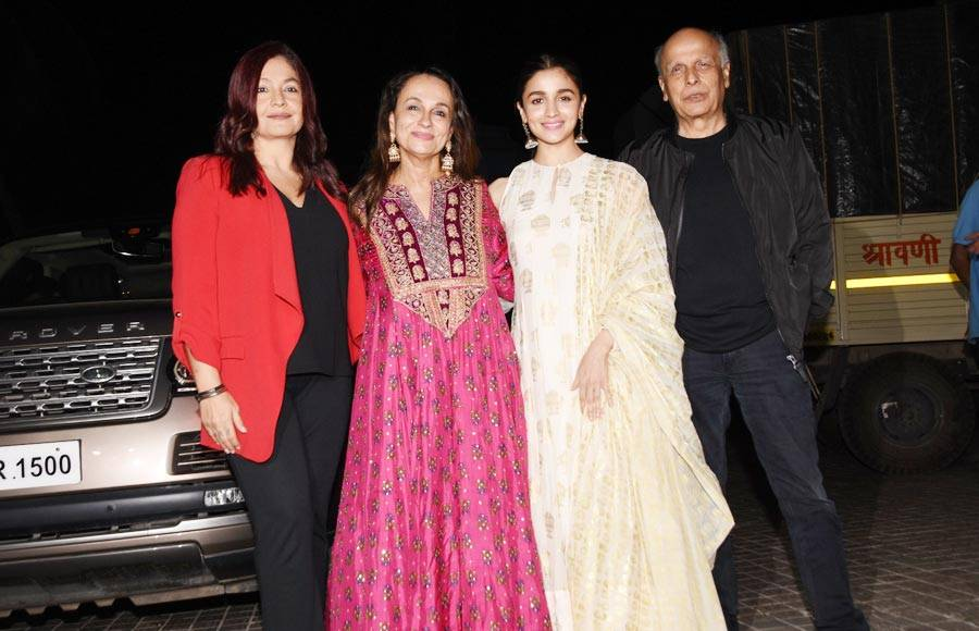 Celebrities attend the special screening of No Fathers In Kashmir