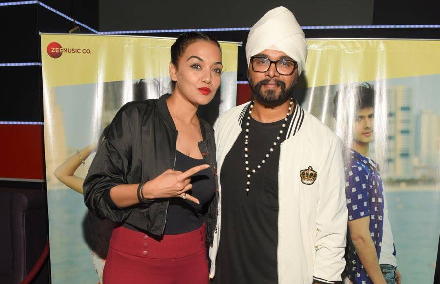Celebs grace the launch of music video starring Rohan and Avneet