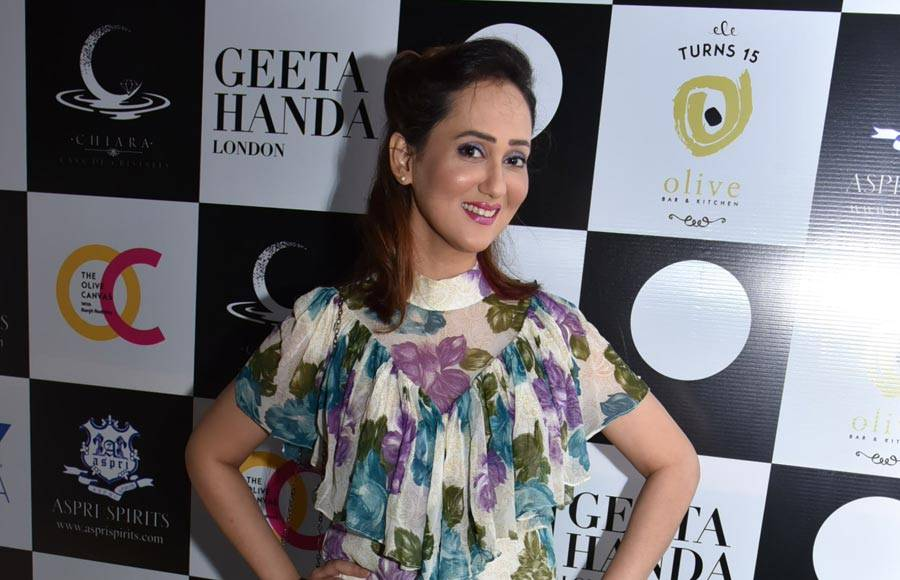 Celebs at Geeta Handa's new collection