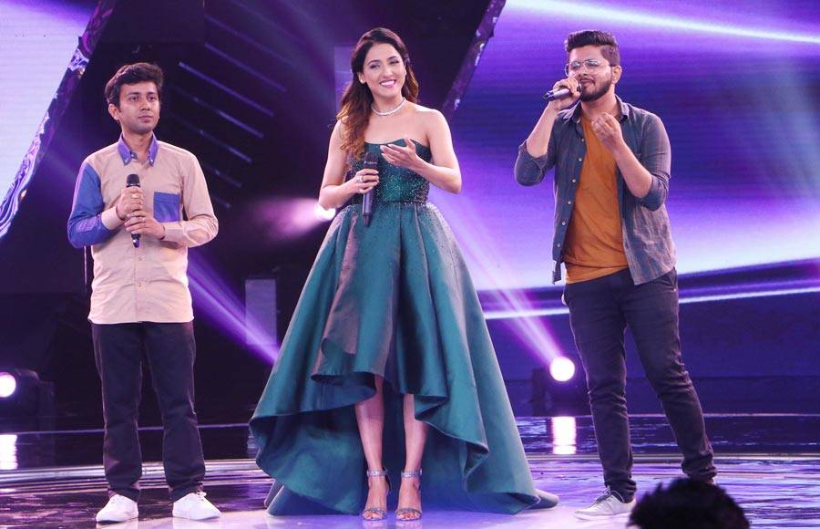 Kumar Sanu graces Colors' The Rising Star 3