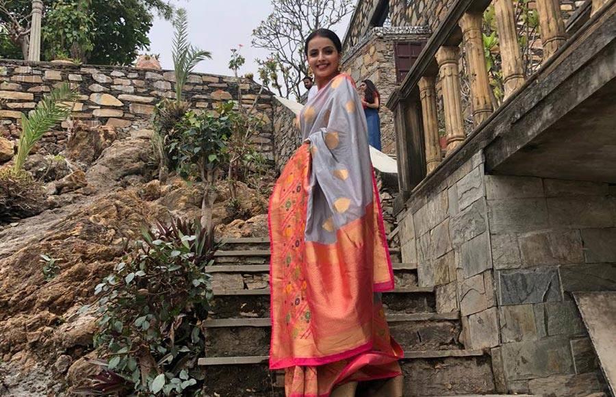 Ek Bhram - Sarvagun Sampanna actors launch show at 1000-year-old Udaipur temple
