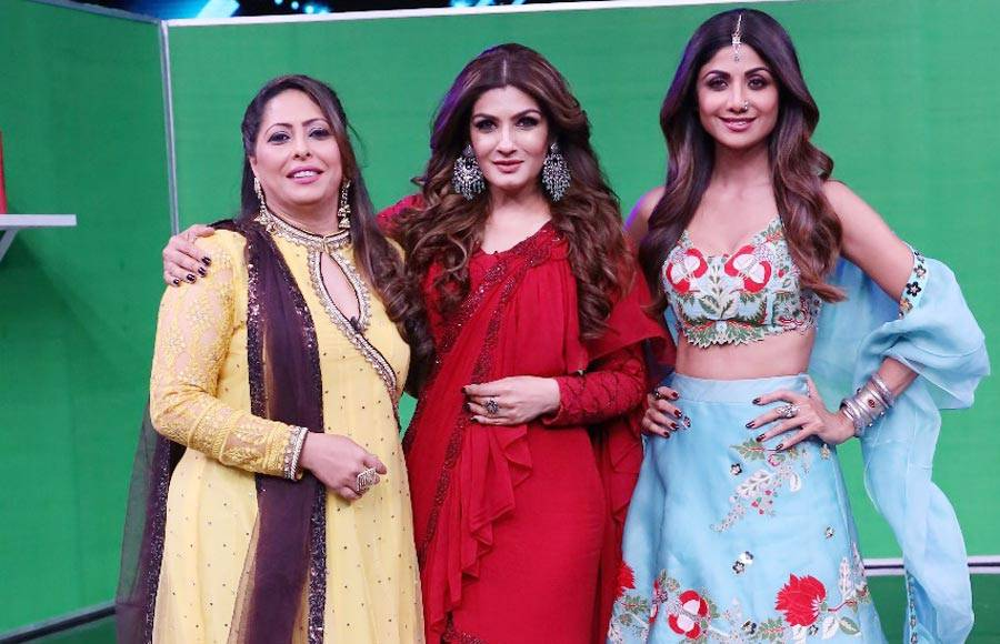 In Pics: Super Dancer Chapter 3 episode with Guest Judge Raveena Tandon