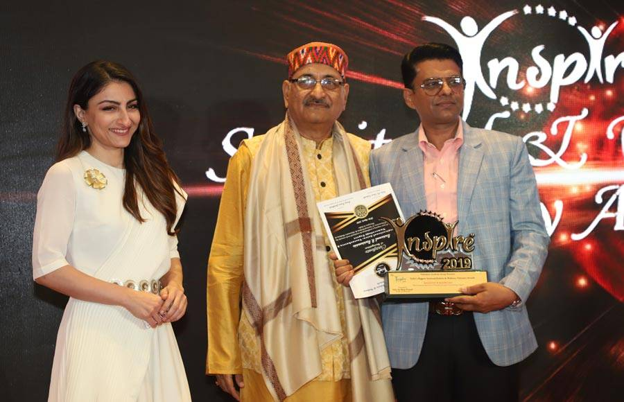 Soha Ali Khan graces the 5th Inspire Awards