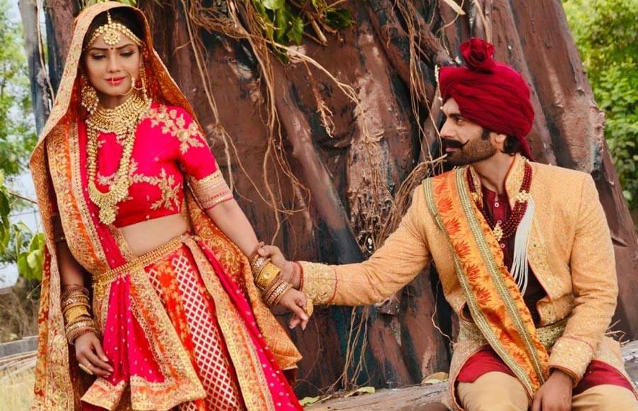 In pics: Adaa Khan & Arhaan Behll as husband and wife in Sitara!