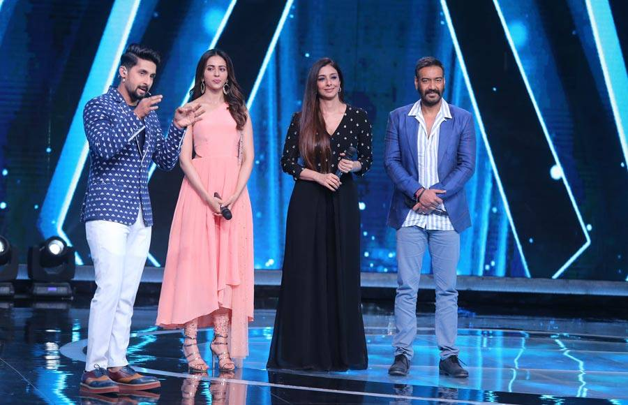 Ajay Devgn, Tabu and Rakul Preet grace Sa Re Ga Ma Pa Li'l Champs