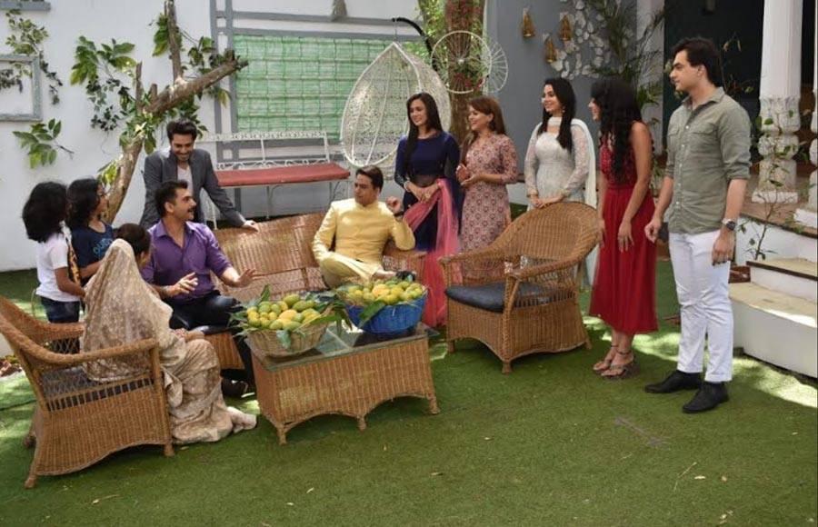 In pics: Mango competition in Yeh Rishta Kya Kehlata Hai