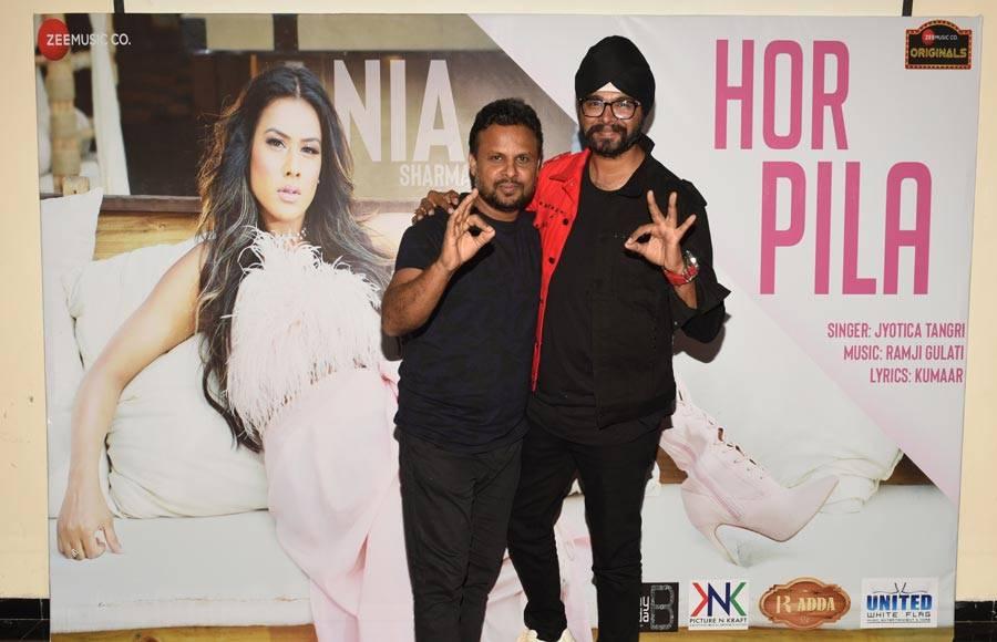 Launch of Nia Sharma starrer music video 'Hor Pila'