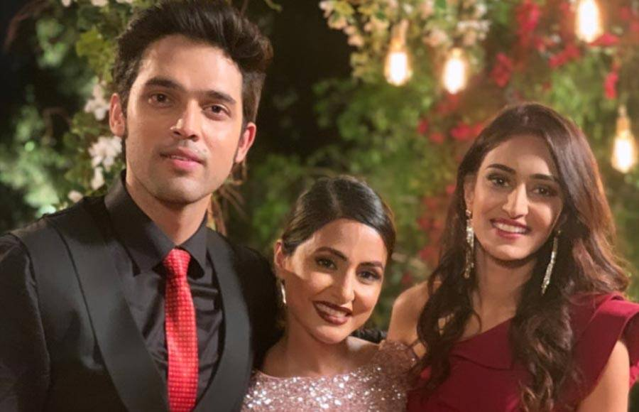 Hina Khan's last day shoot on the sets of Kasauti Zindagi Kay
