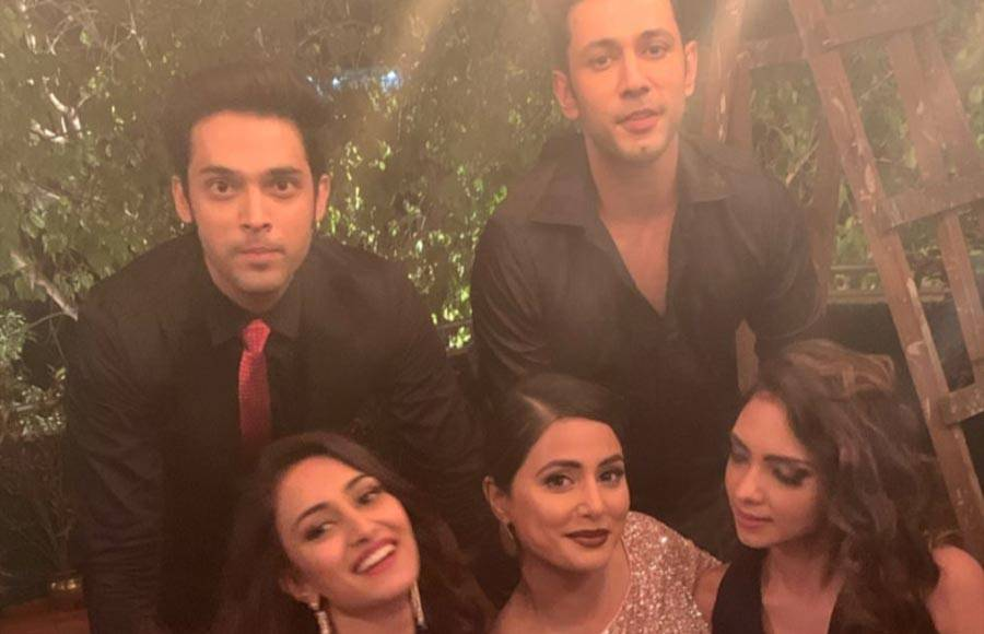 Hina Khan's last day shoot on the sets of Kasauti Zindagi Kay