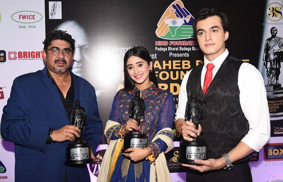 Celebrities at Dadasaheb Phalke Film Foundation Awards 2019