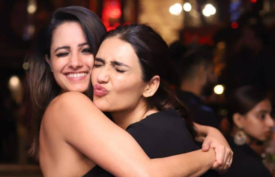 Celebrities at the launch of Pearl V Puri and Anita Hasnandani's