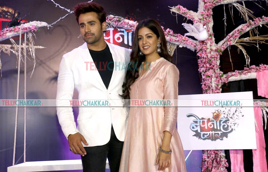 In Pics: Launch of Bepanah Pyaarr and Kawach 2