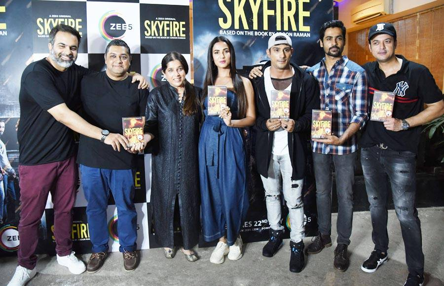 Screening of ZEE5's  Skyfire