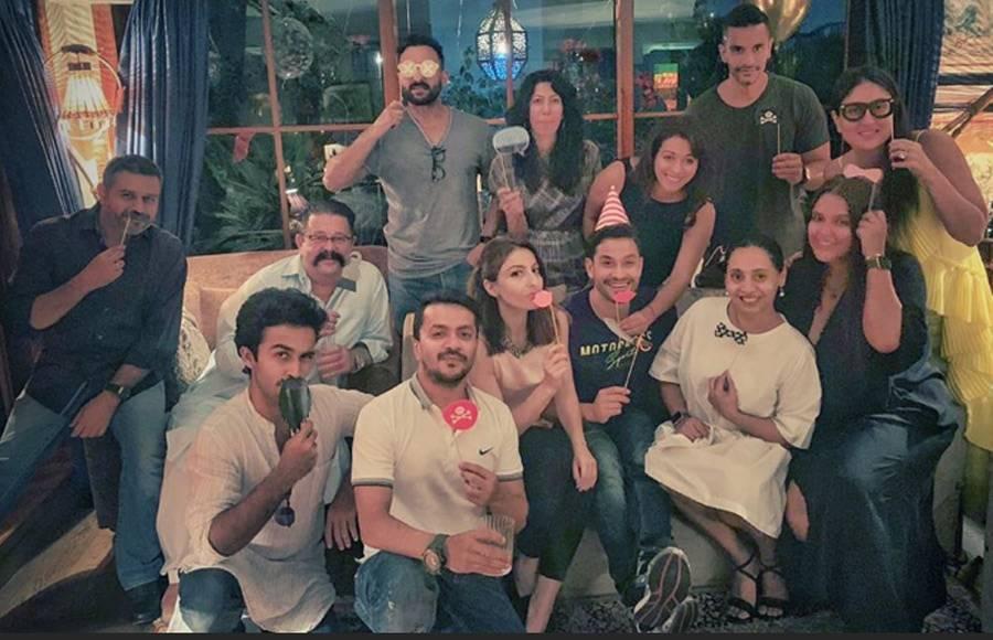 Kunal Kemmu celebrates birthday with family
