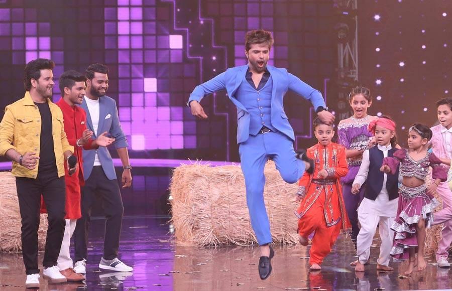 In pics: Himesh & Javed promote Superstar Singer in Super Dancer