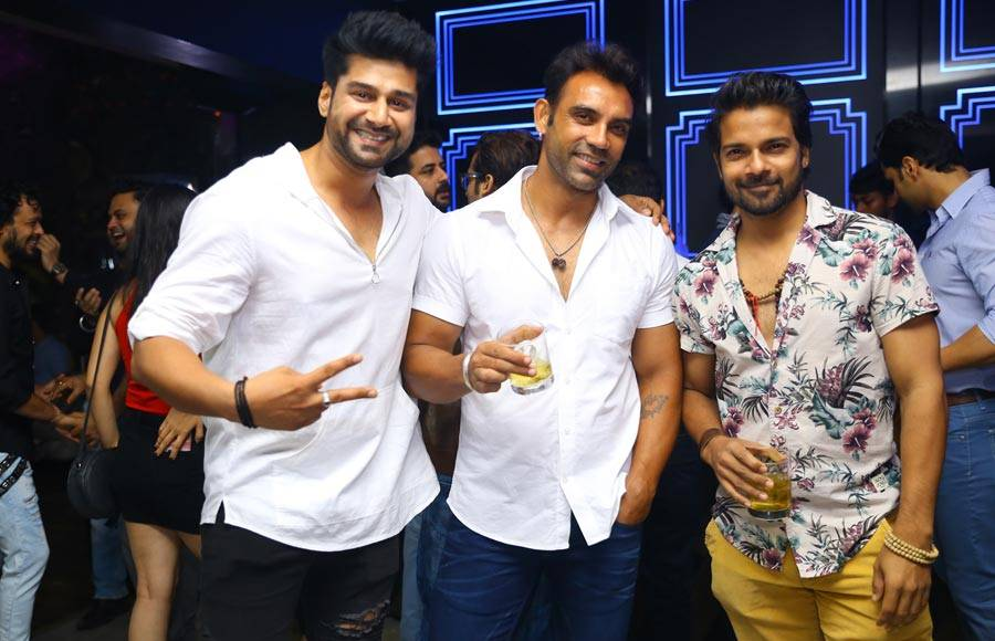 Actors Cricket Bash's success party