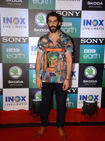 Celebrities at the premiere of Sony BBC Earth's wildlife series, 'Dynasties'