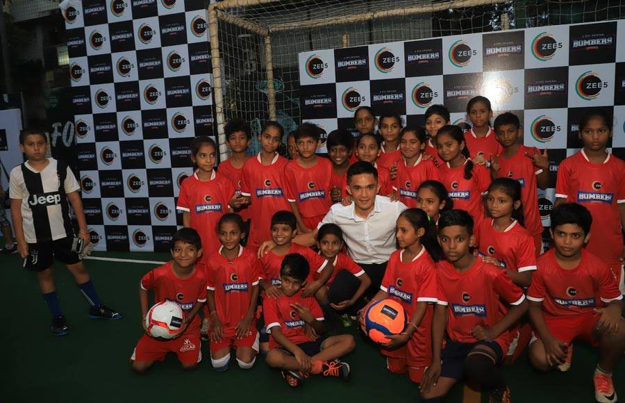Launch of ZEE5's Bombers with  Indian Football Sensation - Sunil Chhetri