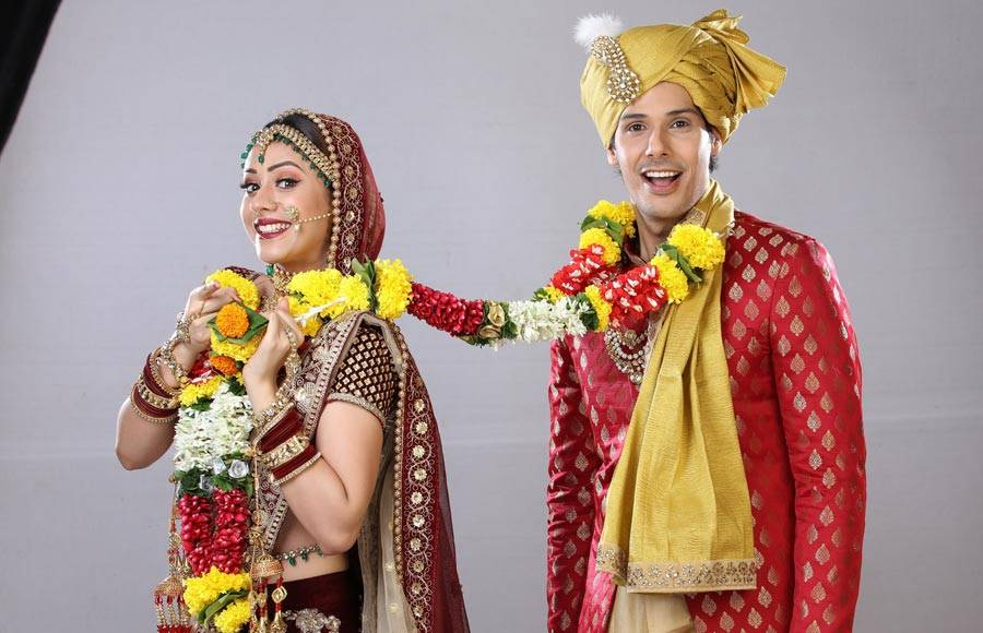Wedding pics of  Pancham and Elaich  from  Sab Tv's Jijaji Chhat Per Hain