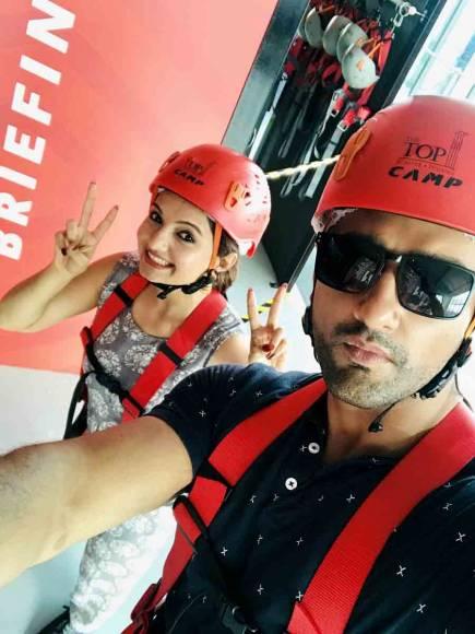 Nishant & Gia become Shahrukh & Anushka in Penang -Malaysia