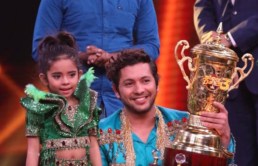 Rupsa Batabyal declared winner of Super Dancer
