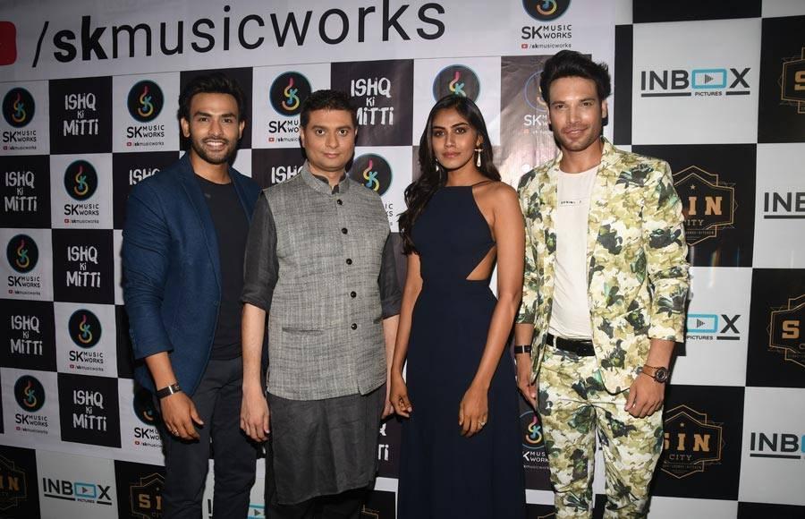 Music Composer Siddharth Kasyap launches Ishq Ki Mitti