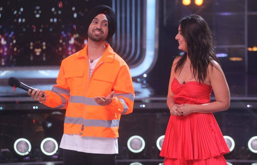 Fun on the sets of Dance India Dance