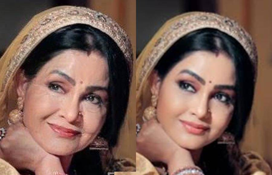 In Pictures: &TV Actors try the face app