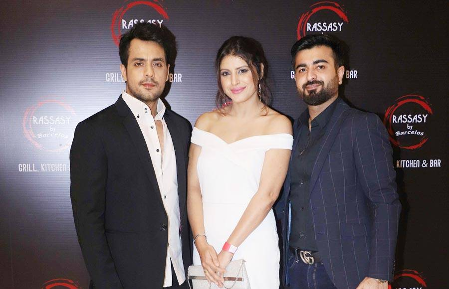 Popular celebs attend a launch party