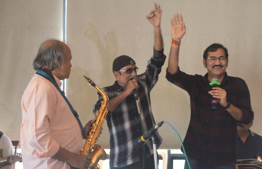 Sudesh Bhosale rehearses for 'Forever Rafi'